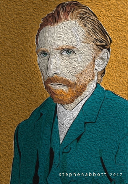 Vincent van Gogh by Henstepbatbot